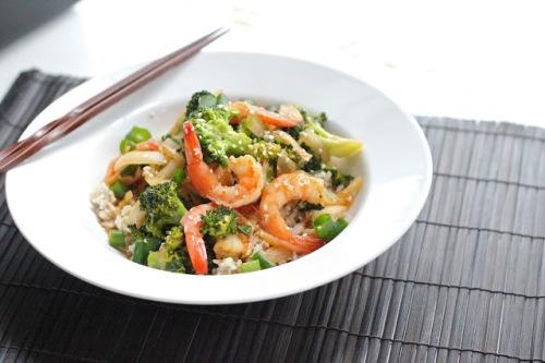 Broccoli & garnalen
