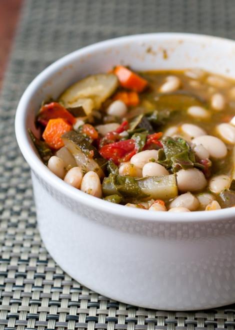 Goedgevulde soep