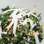 boerenkool salade met amandelen