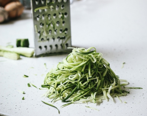 Courgette noodles 2